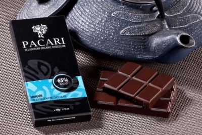 Chocolate barra  Pacari  Manabi 65%